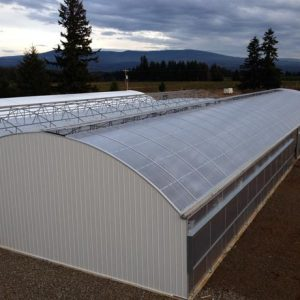 multi span light dep greenhouse