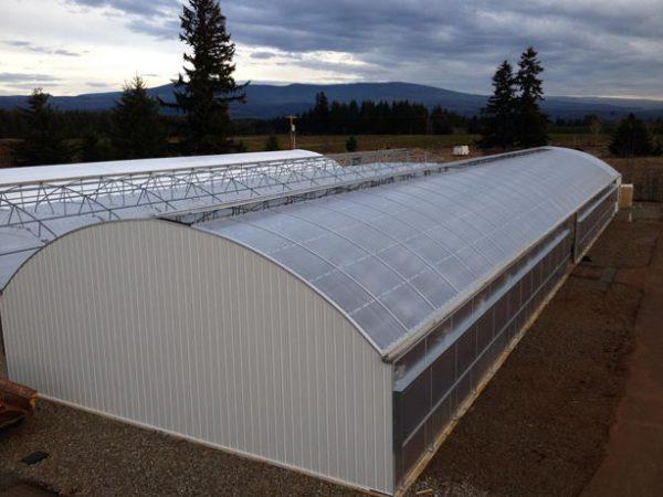 multi span light dep greenhouse