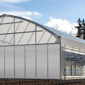 polycarbonate light dep greenhouse